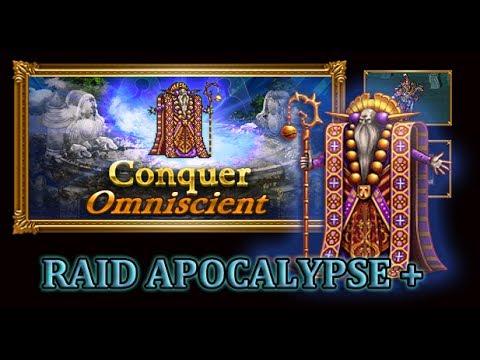 [FFRK] Raid Solo | FFV The Omniscient (Apocalypse +) #811