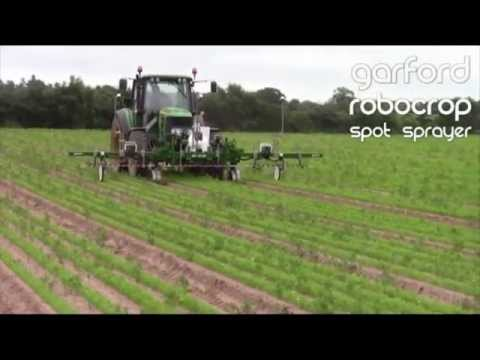 Innovation in agri-tech - Philip Garford on Robocrop