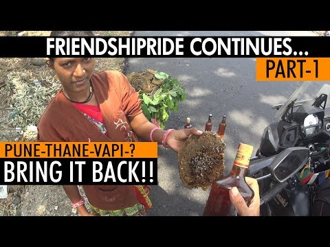 Pune To Home | Part 1 | Friendship Ride Continues