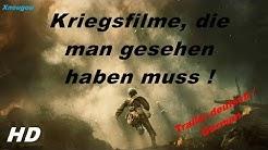 Die besten Kriegsfilme, die man gesehen haben muss ! | Trailer Deutsch/German | Xnougou