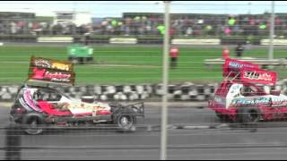 Brisca F1 Stock Car Racing Skegness 10-5-14 Ht2 Hines Harris Speak Harrison Johnson