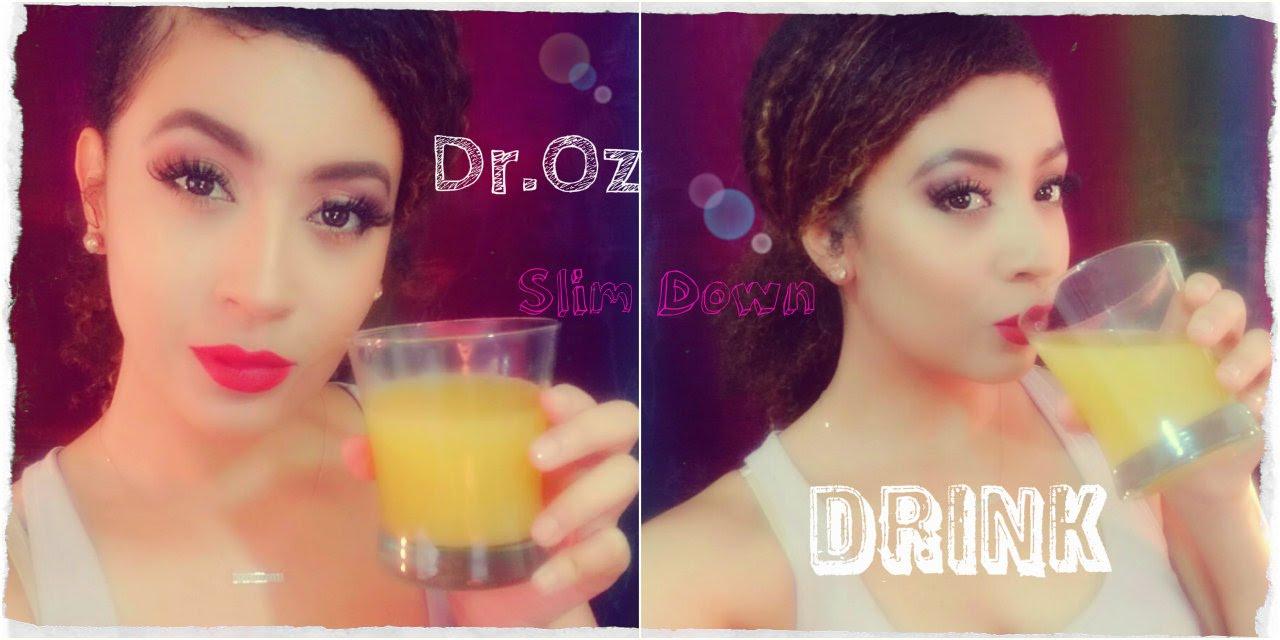 Diy Dr Oz Swim Suit Slim Down Drink Burn Fat Cells Youtube