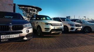 Выбираем премиум кроссовер 2016! BMW X5 / AUDI Q7 / Range Rover Sport /Mercedes GLE / #ЯЛУЧШИЙ(Записаться на тест драйв Ауди Q7 - https://secure-www.audi.de/ru_partner/p_00420/ru.html#overlay/load/ru_partner/p_00420/ru/tools/form/testdrive.html ..., 2016-12-06T14:48:38.000Z)