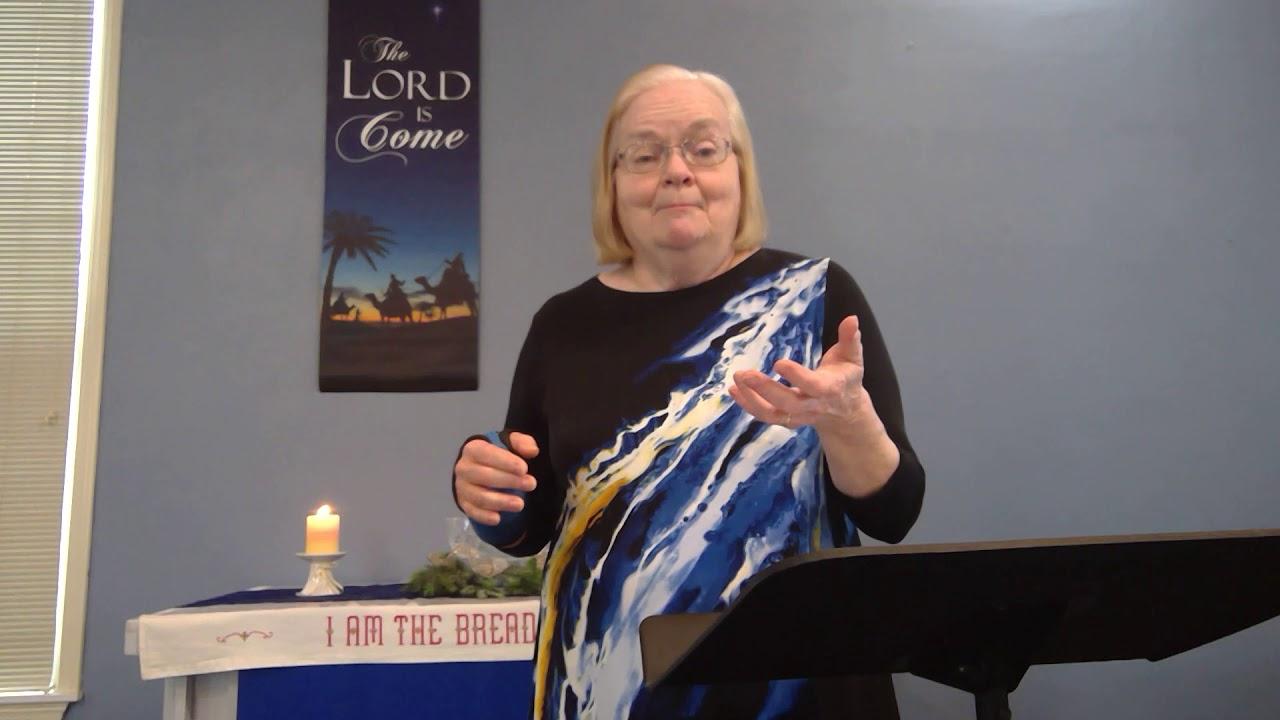 "January 9, 2021 ~ Rev. Julia Price ~ ""Baptism of Jesus"""