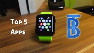 Top 5 Apple Watch Apps [German/Deutsch]