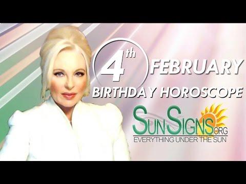 Birthday February 4th Horoscope Personality Zodiac Sign Aquarius Astrology