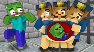 Monster School : ZOMBIE-APOKALYPSE-Challenge - Minecraft Animation