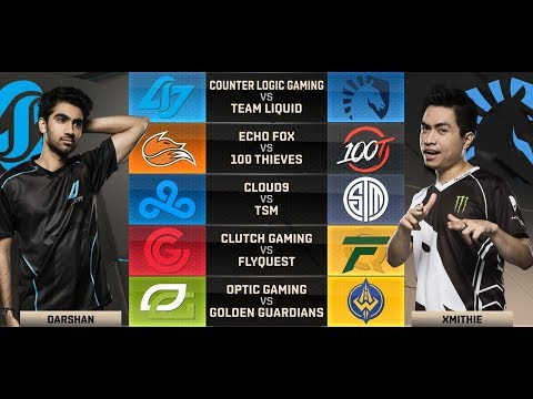 NA LCS Highlights ALL GAMES Week 5 Day 1 / W5D1 Spring 2018