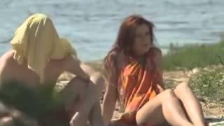 Прикол с девушкой на пляже, пляжные приколы