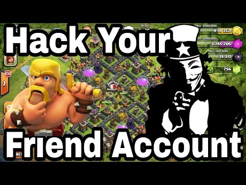 (Clash Of Clans) | How To Hack Your Friend Account In Clash Of Clans With 100% Proof.