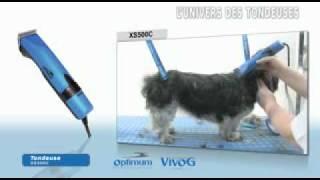 Машинка для стрижки собак и кошек Optimum.avi
