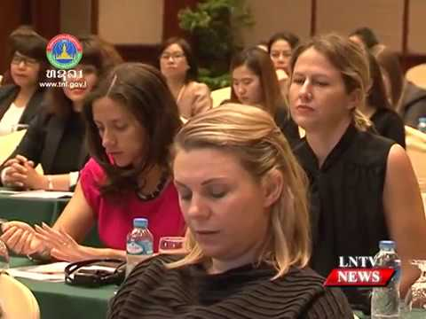 Lao NEWS On LNTV: Over 100 women business leaders from Laos attend the WLC.5/12/2016