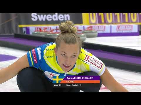 Sweden v Japan Women Curling World Cup First Leg Suzhou
