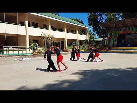 San Fernando Central School on their winning Creative Dance number