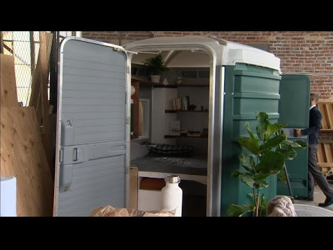 Man Wants to Convert Port-A-Potties Into Tiny Homes for Homeless People