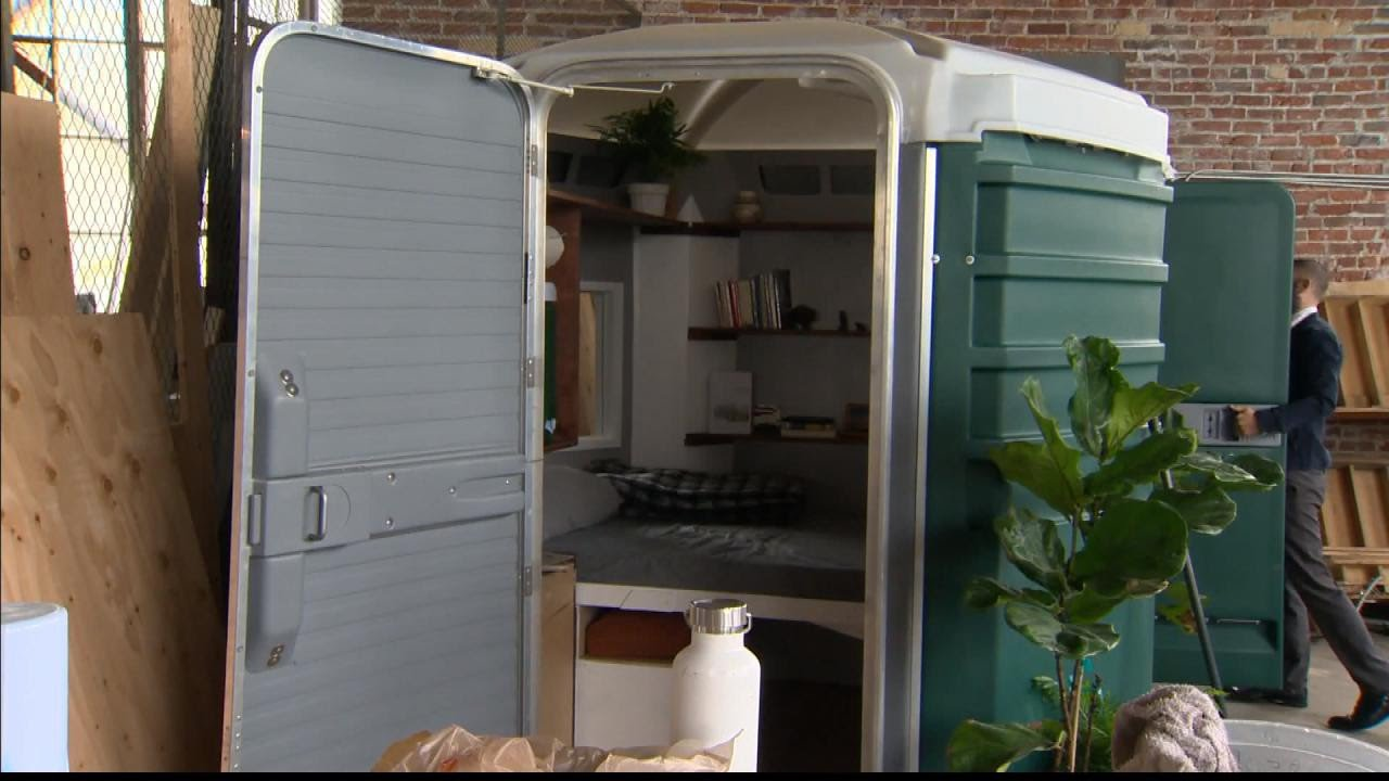 Man Wants To Convert Port A Potties Into Tiny Homes For