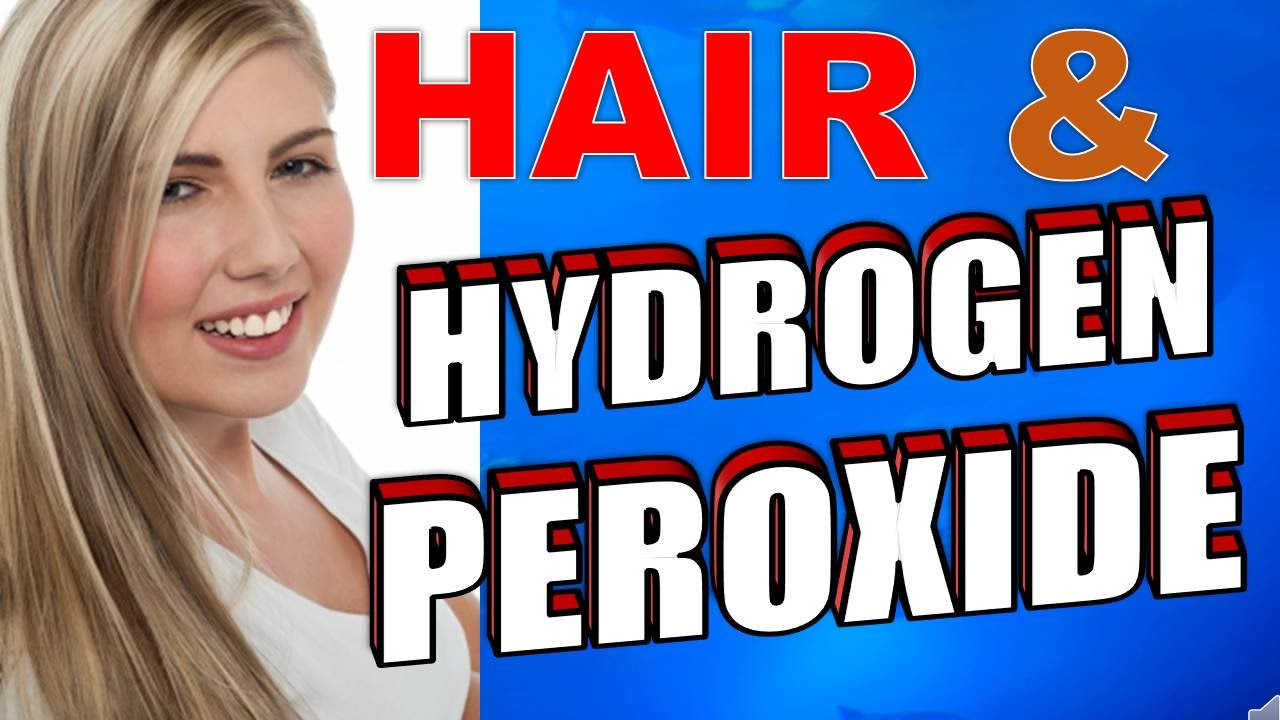 How To Safely Use Hydrogen Peroxide To Bleach Hair Youtube