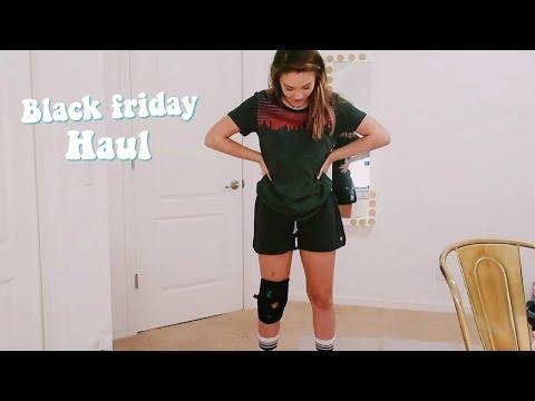 Black Friday shopping haul! Try-on 2018   Emma Marie
