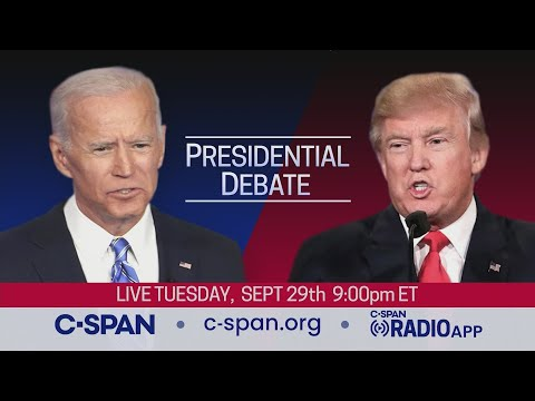 How to watch the first Presidential Debate of 2020