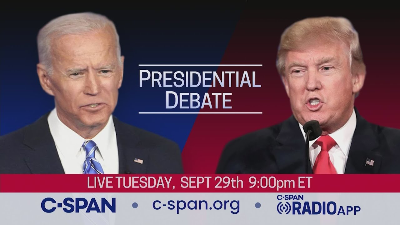 First 2020 Presidential Debate Between Donald Trump And Joe Biden Youtube