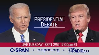 First 2020 Presidential Debate between Donald Trump and Joe Biden