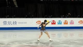Rika KIHIRA 紀平 梨花 - FS practice - 2018 Grand Prix Final