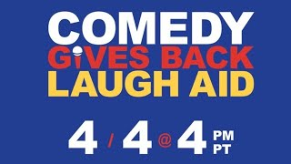 Laugh Aid: Comedy Gives Back