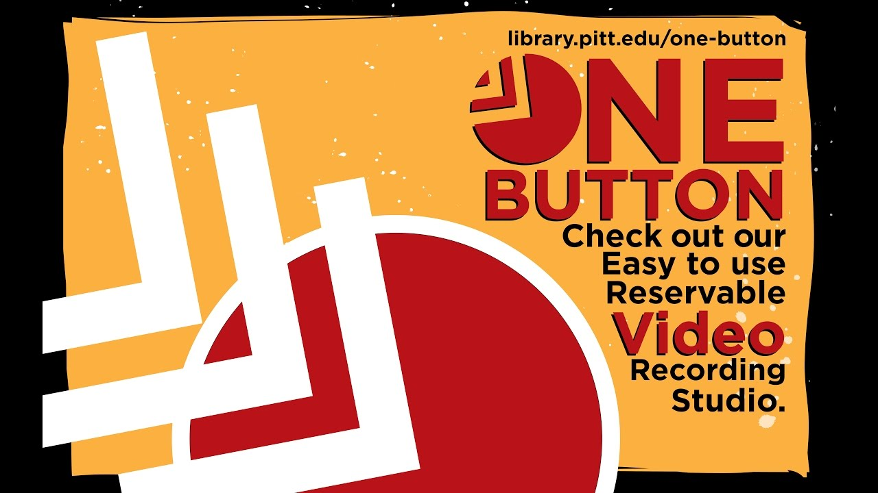 One Button Video Recording Studio   University Library System (ULS)
