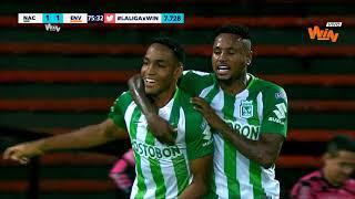 Nacional vs Envigado (3-1) | Liga Aguila 2018-II - Fecha 10