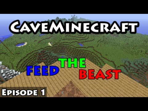 CaveMinecraft: Feed The Beast - Episode 1