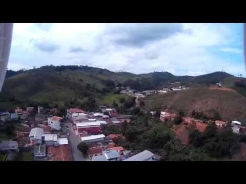 Visão aérea de Teixeiras - MG