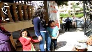 الفيديو الممنوع الراقصة دينا فى سوق الخضار لابسة بنطلون جينس