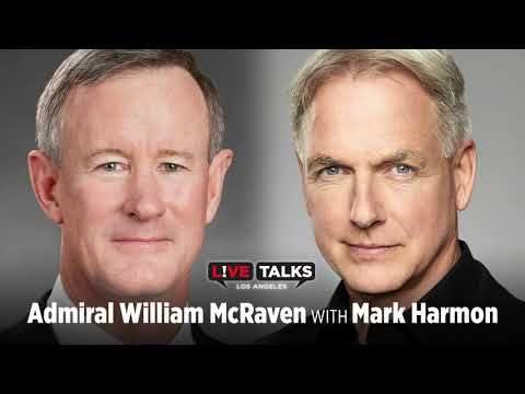 Admiral William H. McRaven in conversation with Mark Harmon at Live Talks Los Angeles