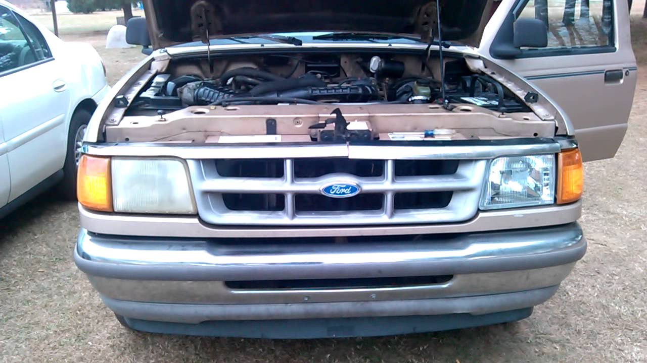 Ford Ranger Headlight Assembly Youtube