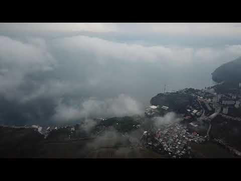 Партенит. Медведь-гора. Майские облака