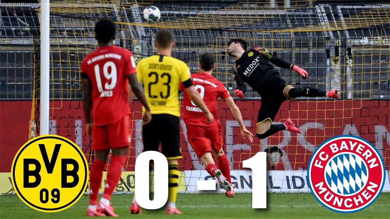 Borussia Dortmund Vs Bayern Munich 0 1 Bundesliga 2020 Match Review Youtube