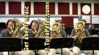 Misirlou from Pulp Fiction Tuba Quartet + sheet music