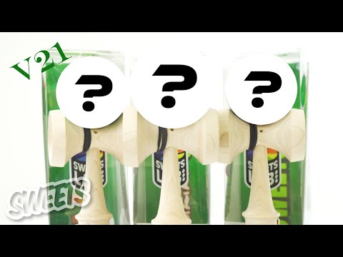 UNBOXING The NEW Sweets Lab V21 Kendamas