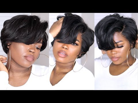 How I Made Cut Amp Styled A Short Bob With A 360 Frontal