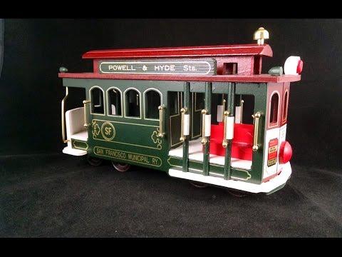 San Francisco Cable Car Music Box - SOLD