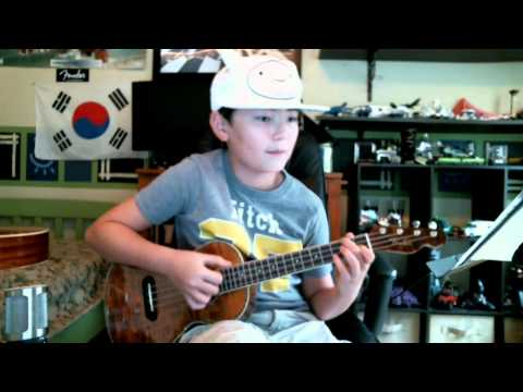 Adventure Time Theme song for Fingerstyle Ukulele and Guitar