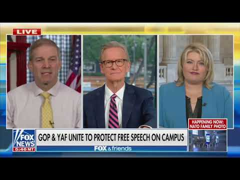 YAF Launches Congressional Free Speech Caucus with Reps. Jim Jordan and Kat Cammack