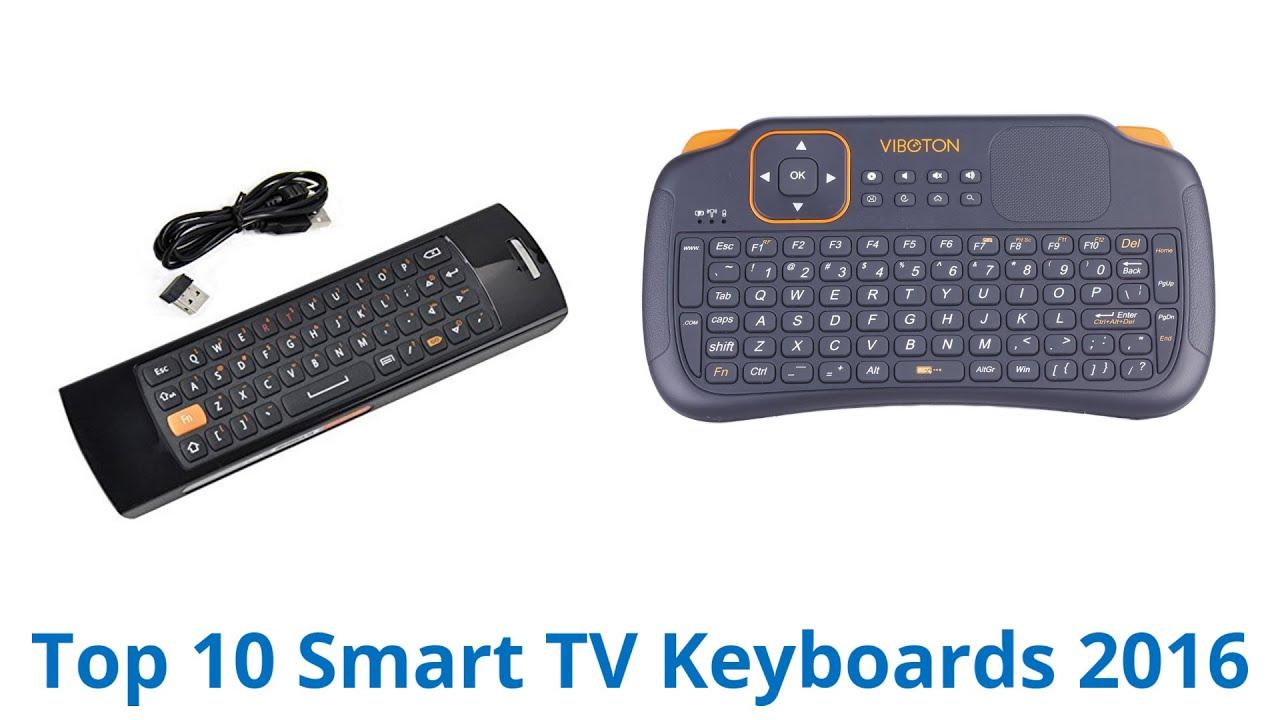 10 Best Smart Tv Keyboards 2016 Youtube