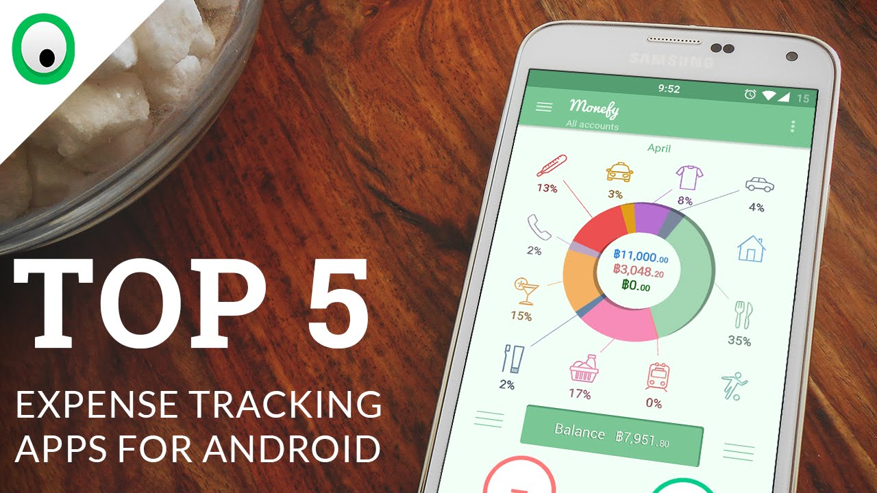 top 5 expense tracking apps for android youtube