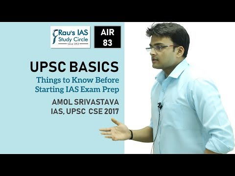UPSC IAS Preparation Strategy for Beginners by Amol, AIR 83,