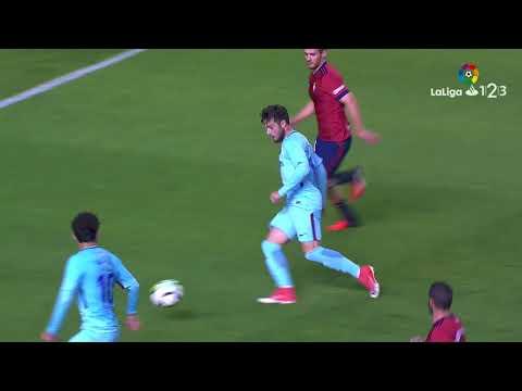 Resumen de Osasuna vs FC Barcelona B (2-2)