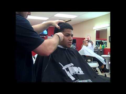 Gumby Slope Haircut With Designs Doovi