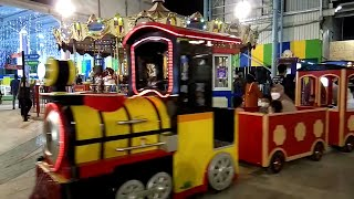 Hey Tayo Naik Bus Tayo Odong Odong Kereta Mini Gandeng Kereta Listrik Di Gofun Tayo The Little Bus