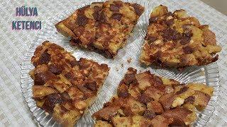 Bayat Ekmekli Omlet tarifi - Hülya Ketenci - Yemek Tarifleri