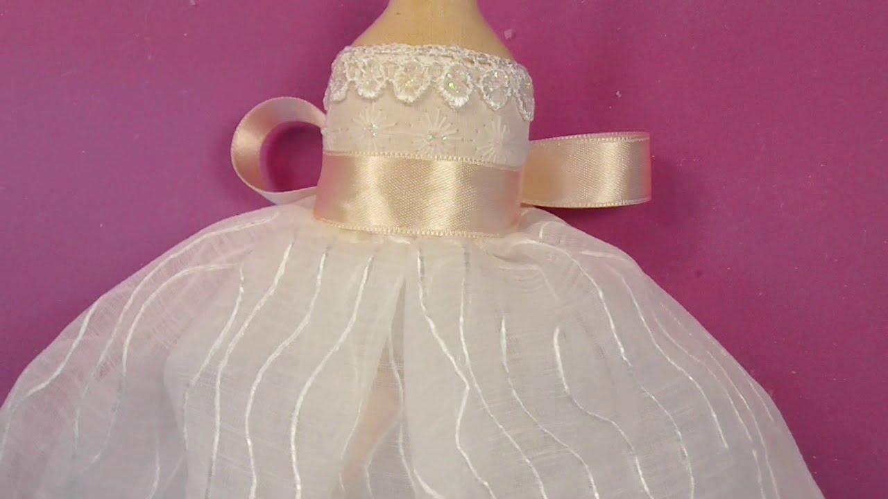 Moldes de vestidos de fiesta para munecas